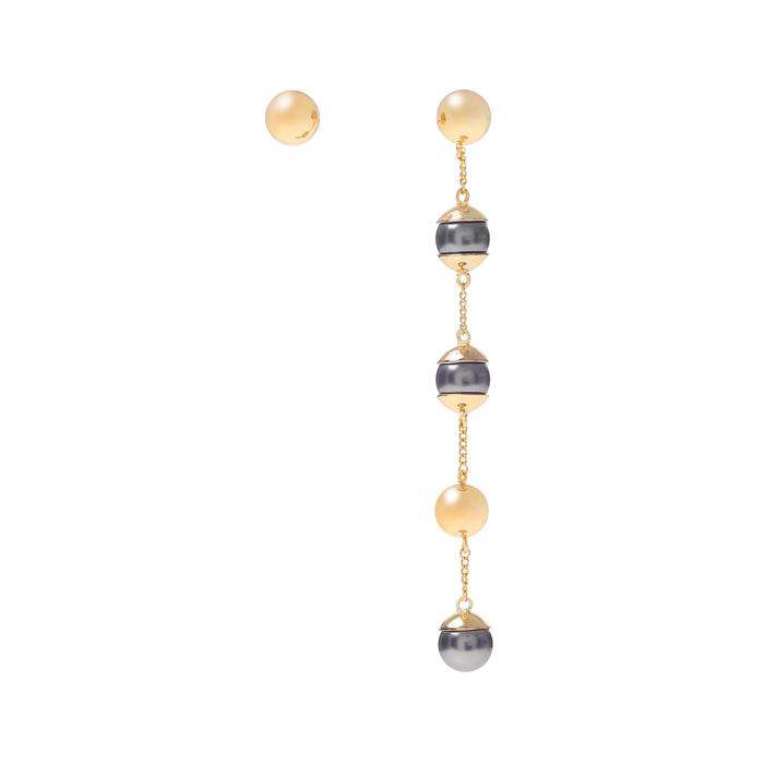 Full Moon 5 layers drop earrings B