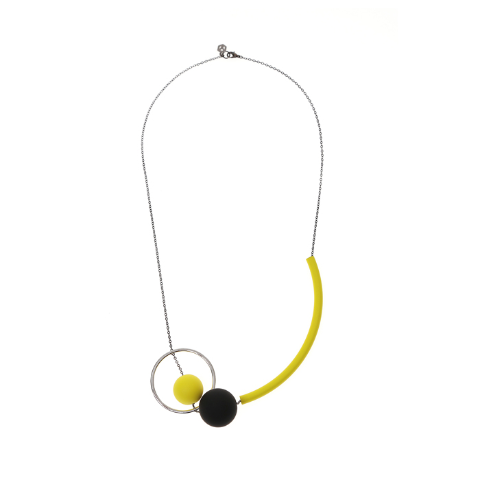 Wonderland Yellow Necklace